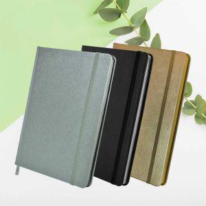 A5 Metallic Notebook