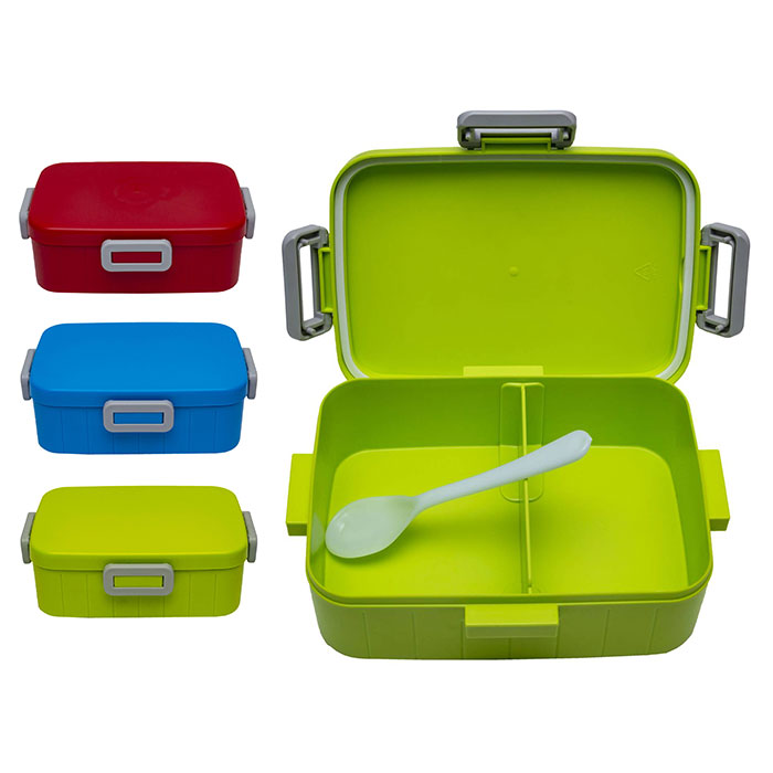 1 TIER LUNCH BOX WITH SPOON