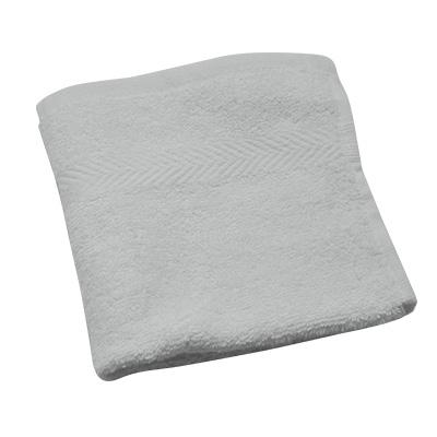 WHITE COTTON FACE TOWEL