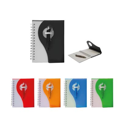 POCKET SIZE NOTEBOOK WITH PEN