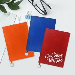 A5 Notebook With Rainbow Colour