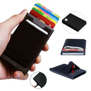 RFID Blocking Card Holder with Pouch