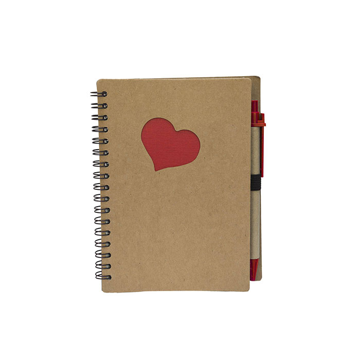 ECO NOTEPAD WITH PEN